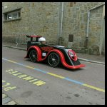 Voiture Deadpool